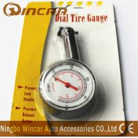 Quality Plastic Body Digital Tire Air Pressure Gauge , Tire Gauge With Blister Card for sale