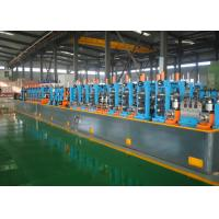 Quality Automatic Precision Tube Mill PLC Control Low Carbon Steel Raw Material for sale