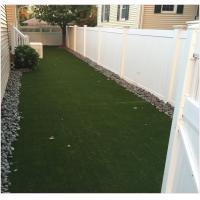 Quality 35 mm Lush Landscaping Artificial Grass Synthetic Replacement UV resistant for sale