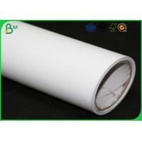 Quality Matte Inkjet Printing Plotter Paper Roll 80 gram 90 gram 100 gram For Packing Boxes for sale
