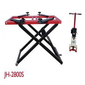 2800KG Lifting Capacity Mobile Scissor Lift , Scissor Lift Platform Dual Cylinders