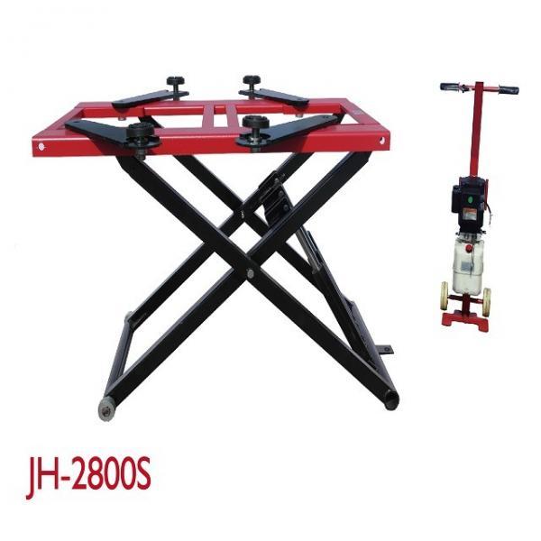 Buy 2800KG Lifting Capacity Mobile Scissor Lift , Scissor Lift Platform Dual Cylinders at wholesale prices