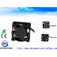 High Pressure 11000RPM DC Axial Fans 12V 25mm 2.44CFM with Sleeve Bearing