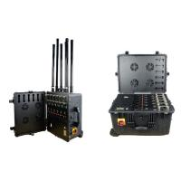 Buy cheap 8 Antennas Drone Signal Jammer / 2.4 Ghz Frequency Jammer With 2 Hours Inner Battery from wholesalers