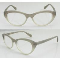 Quality Ladies Fashion Oval Acetate Eyeglasses Frames / Optical Frames With Lightweight for sale