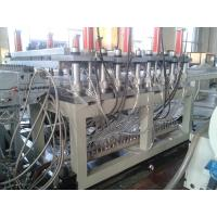 Quality 400kg/h Output PVC Foam Board Extrusion Line Hot Stamping Printing for sale