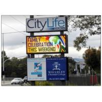 Quality P8 RGB Programmable LED Message Board , 3G / WIFI Wireless Control Custom LED Sign for sale