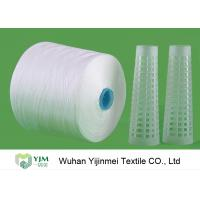 Quality 60S 60s /2 TFO Polyester Yarn for Sewing Thread Yarn Raw White With Dyeing Tube for sale