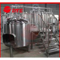 Quality 1500L Commercial Beer Brewing Equipment With Spray Ball Cleaning System for sale