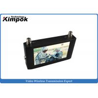 Buy Touch Screen HD Wireless Video Receiver 7 Inch LCD Monitor For COFDM Transmitter at wholesale prices