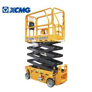 XCMG GTJZ0607 7.8m Mobile Scissor Lift Platform / Hydraulic Work Platform