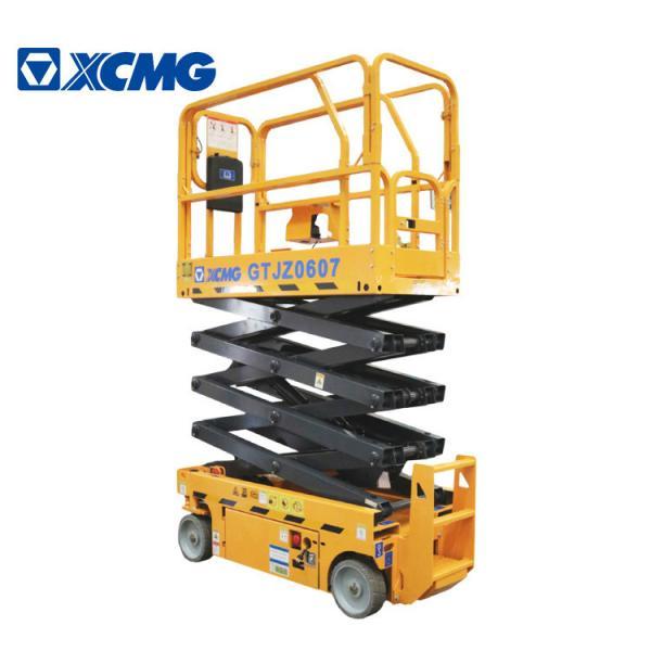 Buy XCMG GTJZ0607 7.8m Mobile Scissor Lift Platform / Hydraulic Work Platform at wholesale prices