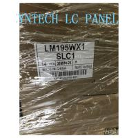 Quality 19.5inch Monitor LCD Panel 1440*900 Brightness 250cd/m² LM195WX1-SLC1 Antiglare for sale