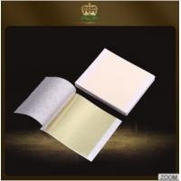 Buy cheap Top sale Taiwan imitation champagne silver leaf 9*9 cm for domestic furnishing from wholesalers