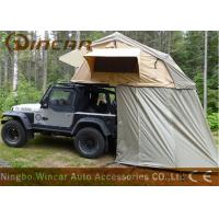 Quality Truck Soft Car Top Tent Outdoor Waterproof 260g / 280g Canvas Material For Camping for sale