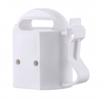 China Steel Post Cap Topper for electric fencing/T-Post Safety Cap Insulator white on sale