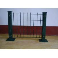 Quality Bending Barrier Wire Fence / Park Fence Barricade / Fence With Triangle Bends for sale