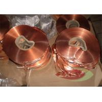 Buy Oxygen Professional 1181 Copper Foil Roll Sheet , Copper Strip at wholesale prices