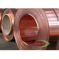 Quality Oxygen Free Cast Copper Silver Strips With O , 1/4H , 1/2H , H Temper for sale