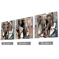 Buy Frameless PET 3d Lenticular Image / Animal 3d Lenticular Christmas Cards For at wholesale prices