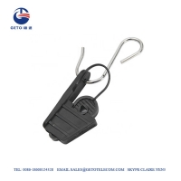 Quality Nylon SS201 Indoor 5mm Aerial Drop Wire Clamps for sale