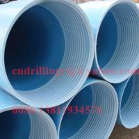 Quality PVC Casing and screen pipe water well drilling parts 1m 3m 6m for sale