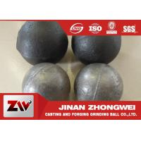 Quality Cement plant use  forged and low chrome cast grinding ball / steel grinding balls for sale