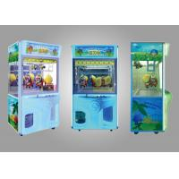 Quality Coin Operated Toy Arcade Claw Machine / Child Play Claw Machine for sale