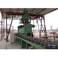 Quality QGW Series Steel Pipe Shot Blasting Machine External Rust Removal ISO Certificated for sale