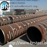 Quality SSAW Spiral Welded Steel fbe/lpe coating Pipe X42 X46 X52 X70 API 5L PSL1 Standard For Oil And Gas Pipeline,black paint for sale