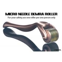 Quality Gold Handle Micro Needle Derma Roller for Body  /  Facial Aesthetic Skin Care for sale