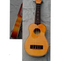 Quality Archaized Flamed Maple 4 String Hawaii Guitar Ukulele 21 inch AGUL15 for sale