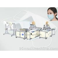 Buy cheap Automatic Face Mask Production line, medical face mask making machine from wholesalers