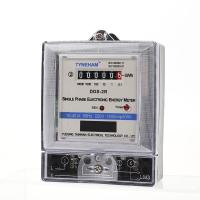 Quality Anti Fire Single Phase Electric Meter , Long Life Single Phase Digital Power Meter for sale