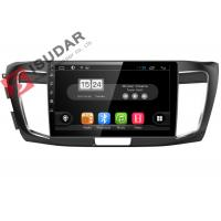 Quality HD 1024*600 2013-2016 Honda Accord Navigation System With 4G RADIO 10.1 Inch for sale