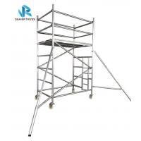 Quality Multi Functional Ringlock Scaffolding System , High Strength Portable Scaffold Tower for sale