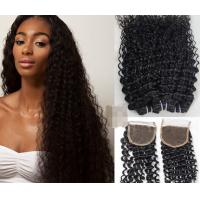 Quality 100% Blond And Black Ombre Hair Peruvian Virgin Hair / natural wave peruvian hair for sale