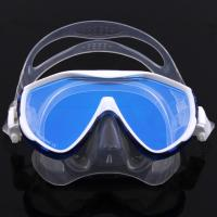 Quality Tempered No Fog Dive Mask with Silicone Skirt Soft Flexible Silicone Strap for sale