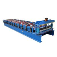 Quality 1050 Coated Steel Sheet Making Machine Wall Panel And Roof Forming Machine for sale
