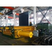 Quality 315 Tons Baling Force Cuboid Block , Cylinder Scrap Metal Pressing machine for sale
