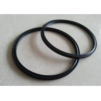 Quality Professional Sealing Custom Silicone Rings , Round Platinum Cured Silicone Gaskets for sale