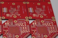 Quality Communication TG150 1 Oz Copper Pcb HAL Lead Free With Blind Via for sale