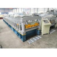 Quality 24 Months Warranty Time Automatic Metal Roof Roll Forming Machine Based On ISO Quality for sale