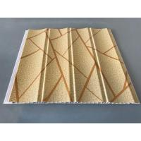 Buy Easy Maintenance Laminated Pvc Wall Panels For Drawing Room 25cm*7.5mm at wholesale prices