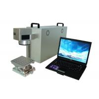 China Customrized Portable Fiber Laser Marking Machine For Metal Aluminum sheet on sale