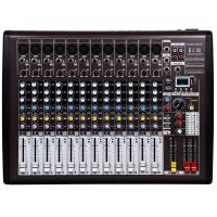 Quality Professional Audio Mixer , 12 channel DJ music mixer with DSP I12 for sale