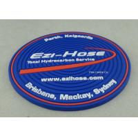 Buy cheap Customized Soft PVC Coaster With Logo Printing Diameter 9cm Pantone Chart from wholesalers