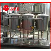 Quality 100L Small SS304 Cip Cleaning System Mirror Polish Interior Surface for sale