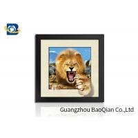 Quality Animal 3D 5D Photography , Lenticular Image PrintingHome / Bedroom Wall Art Decor for sale
