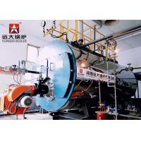 Quality Fire Tube Gas Oil High Efficiency Hot Water Boiler Three Way Automatic Running for sale